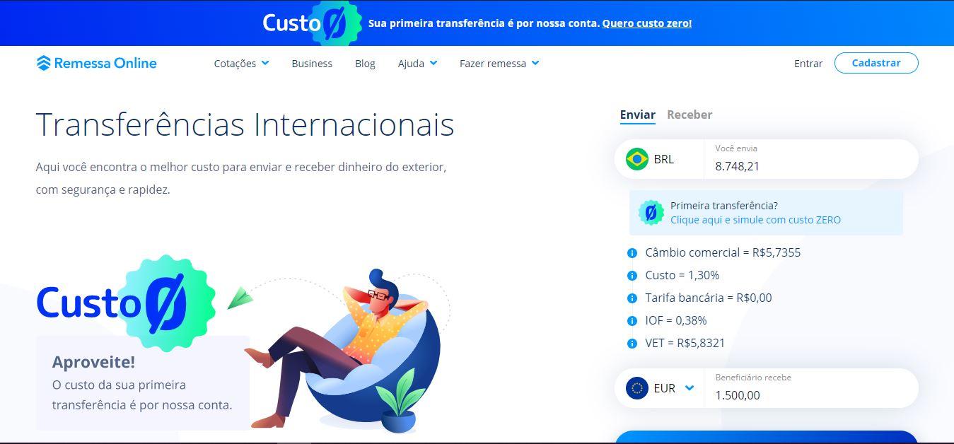 Remessa Online, de transferências internacionais, capta R$ 110 milhões
