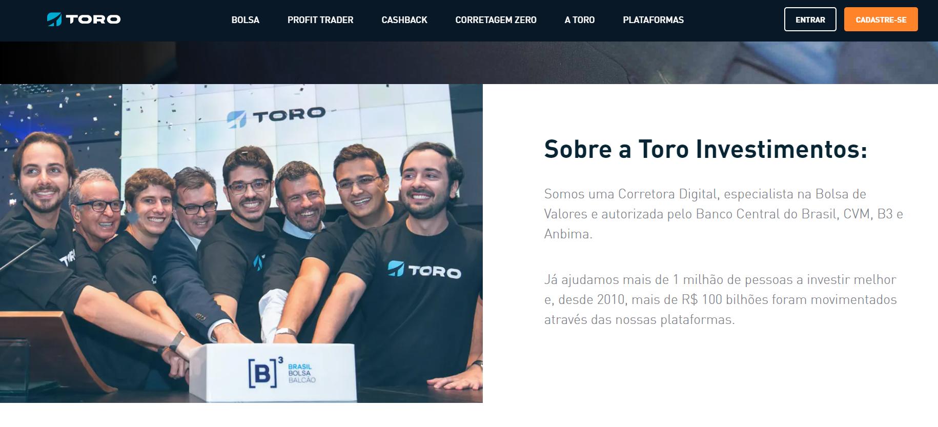 Santander compra o controle da corretora Toro