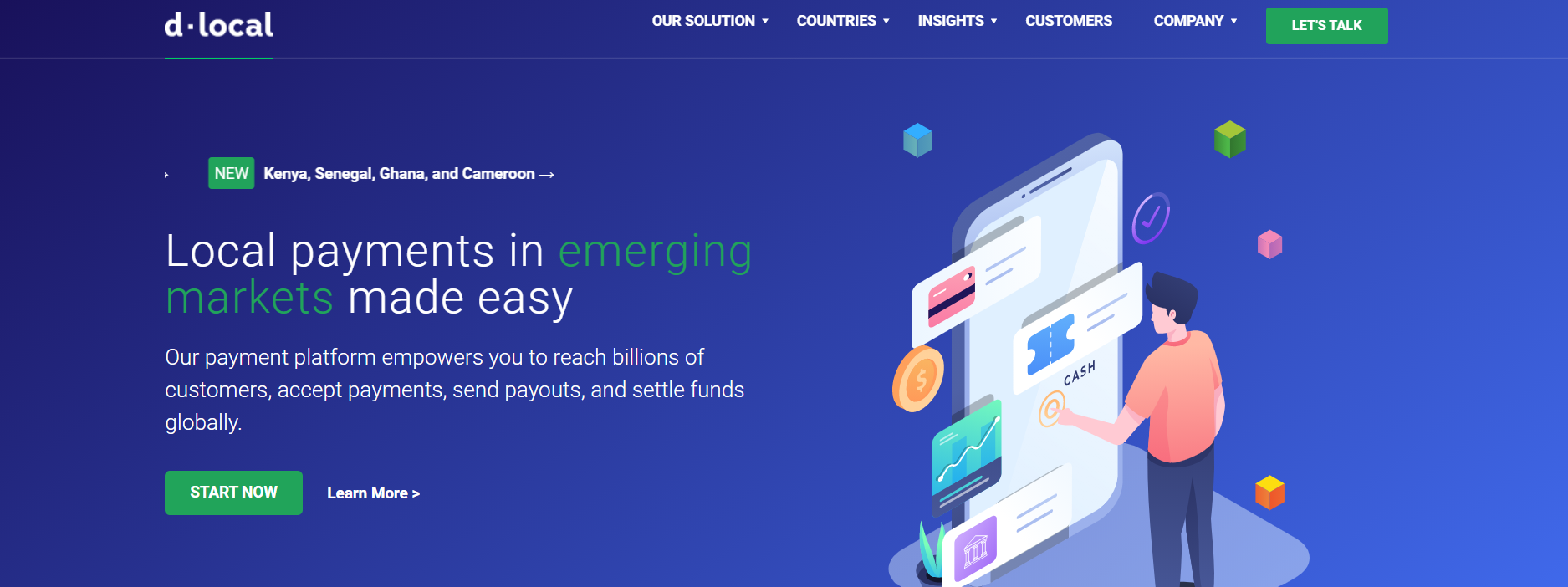 Unicórnio uruguaio dLocal acelera expansão internacional e adiciona pagamentos da Microsoft na Nigéria