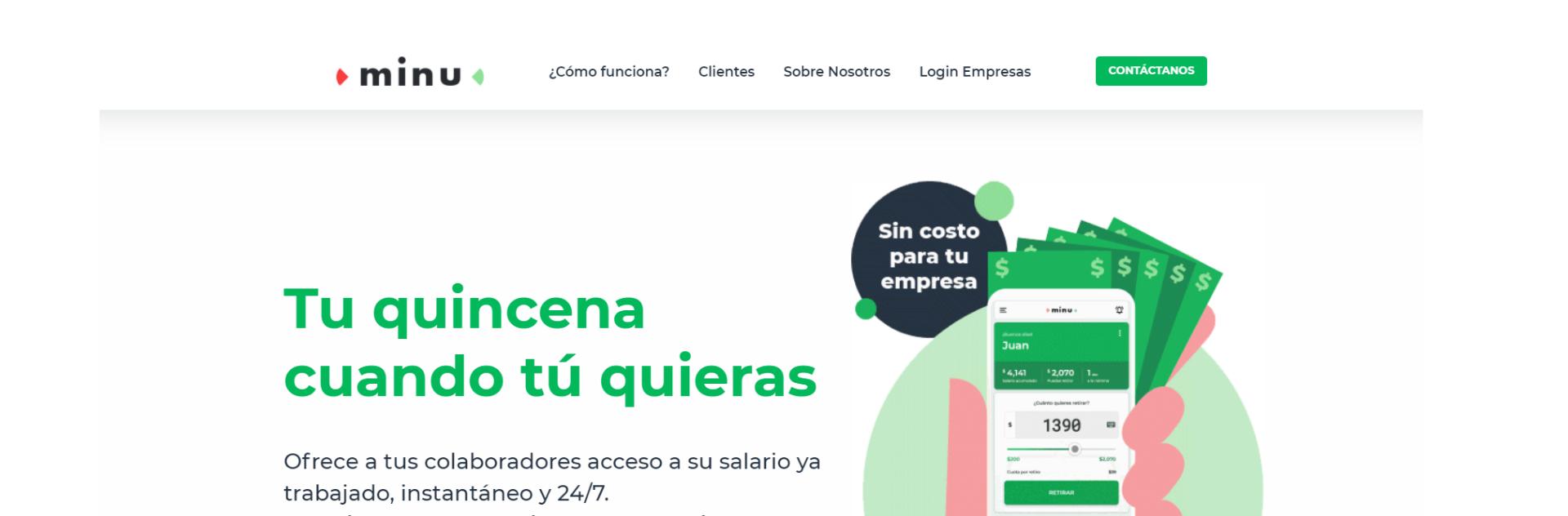Fundo VEF participa de rodada na Minu, de antecipação de salário, que concorre com a Creditas no México