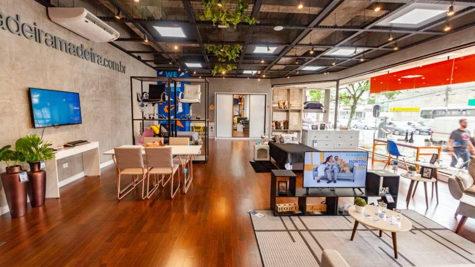 MadeiraMadeira chega a 100 lojas físicas e vai abrir mais 70 até o fim do ano